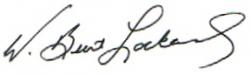 W. Burt Signature - Slant2